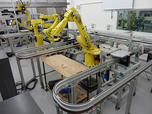 Automation Lab at Cambridge Auto-ID Lab / DIAL